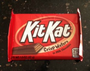 Kit Kat's aren't good for fitness
