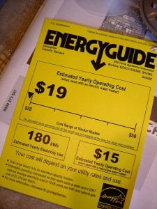 saving money with energy efficient appliances