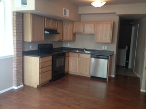 remodeled rental kitchen