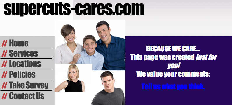 www.supercuts-cares.com