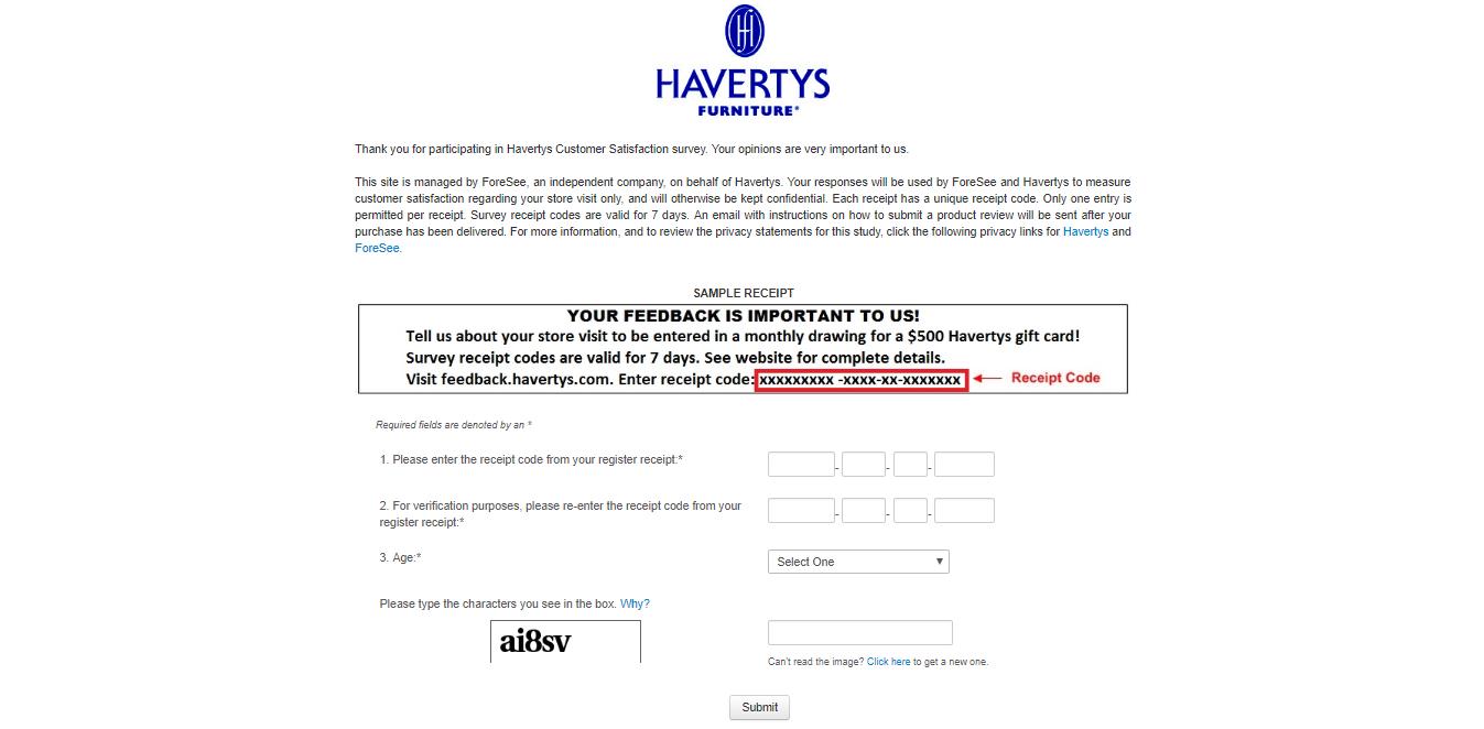 feedback.havertys.com