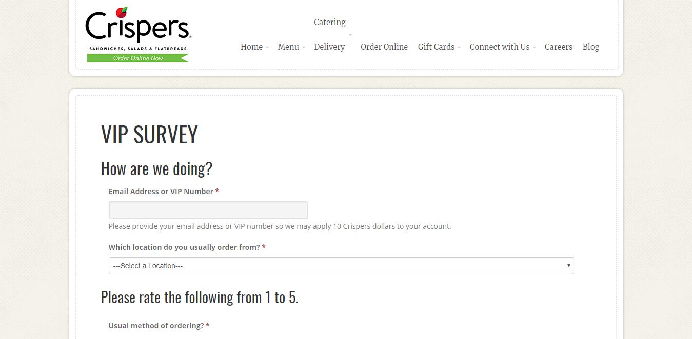 www.crispers.com/vip-survey/