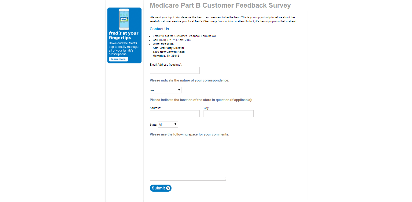 www.fredsmeds.com/medicare-part-b-survey/