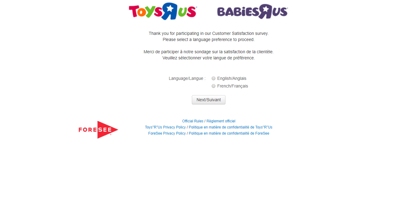 survey.foreseeresults.com/toysrus.ca