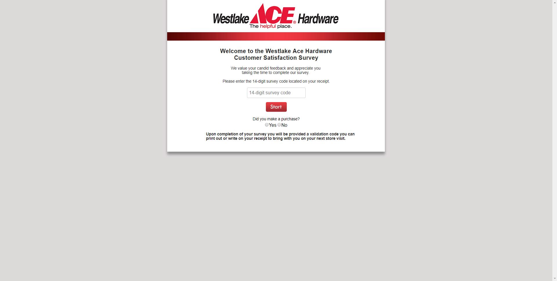 acehardwarewestlake.survey.marketforce.com