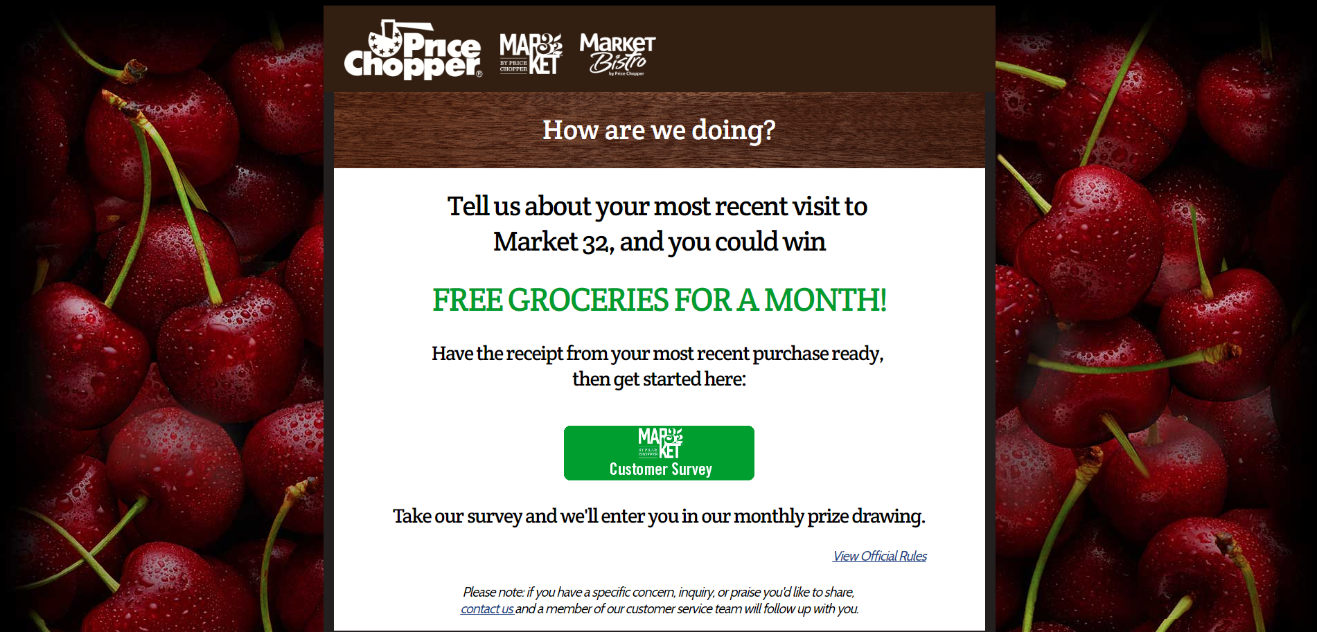 www m32opinion com | Market 32 Survey – Win Free Groceries
