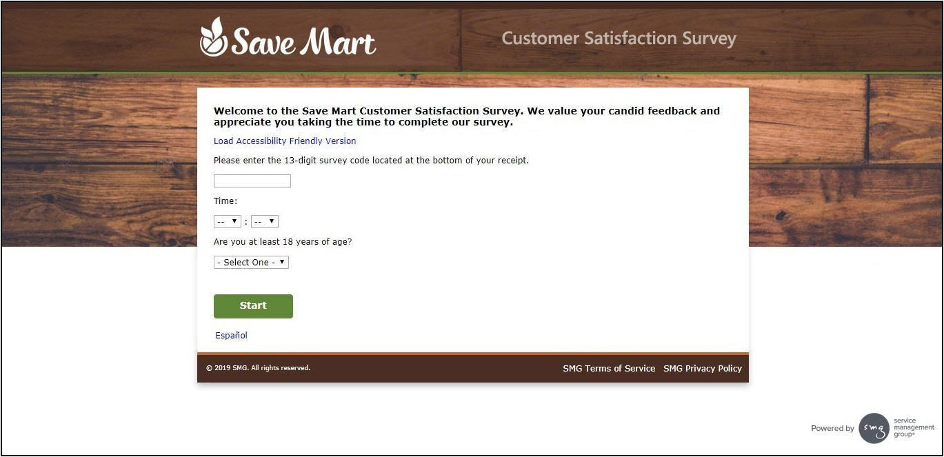 www.SaveMart.com/Survey