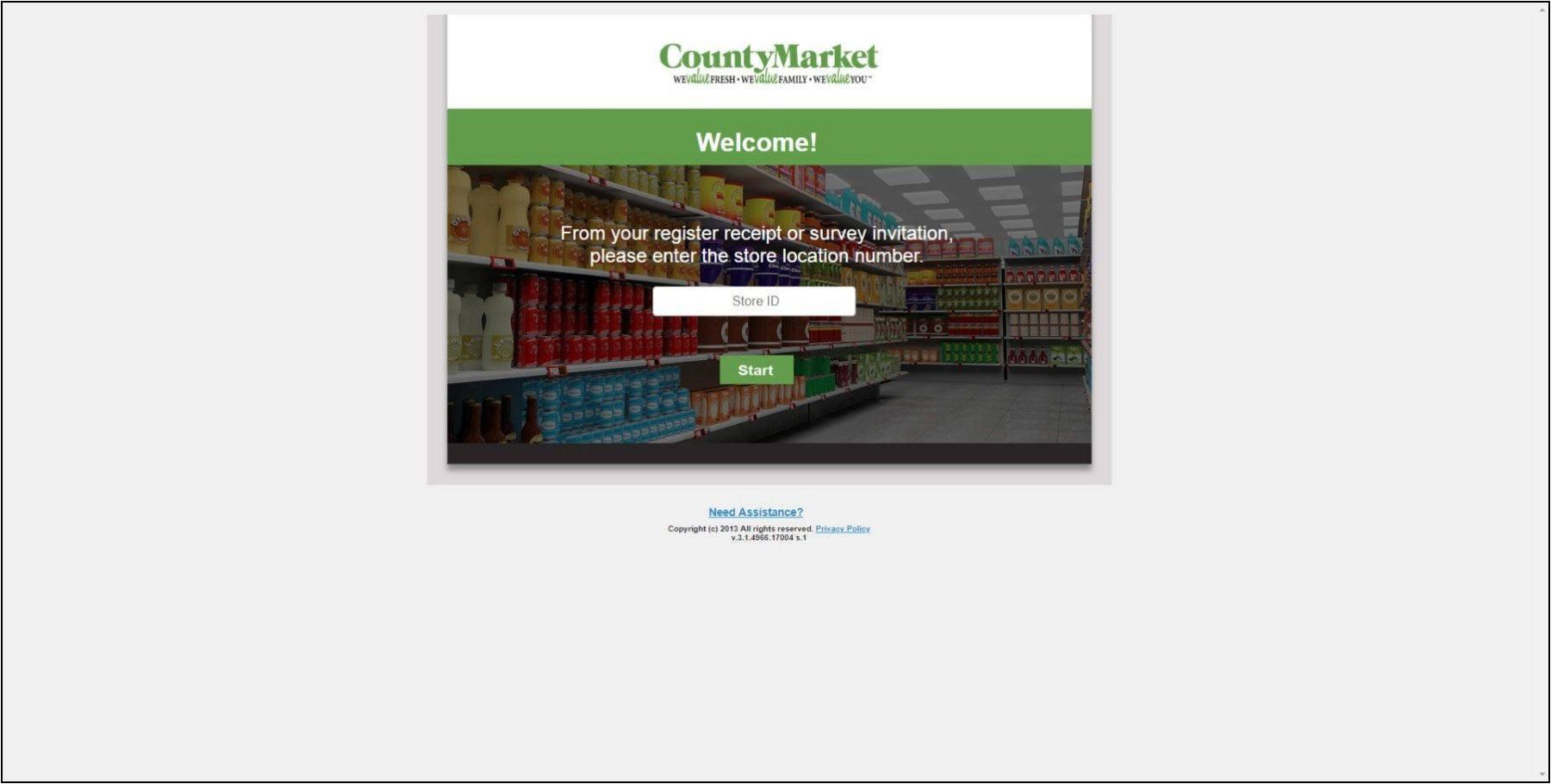 www.CountyMarketFeedback.com