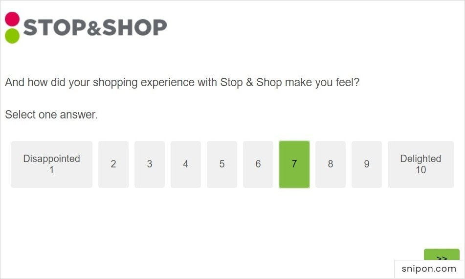 www.talktostopandshop.com - How Shopping @ Stop & Shop Made You Feel?