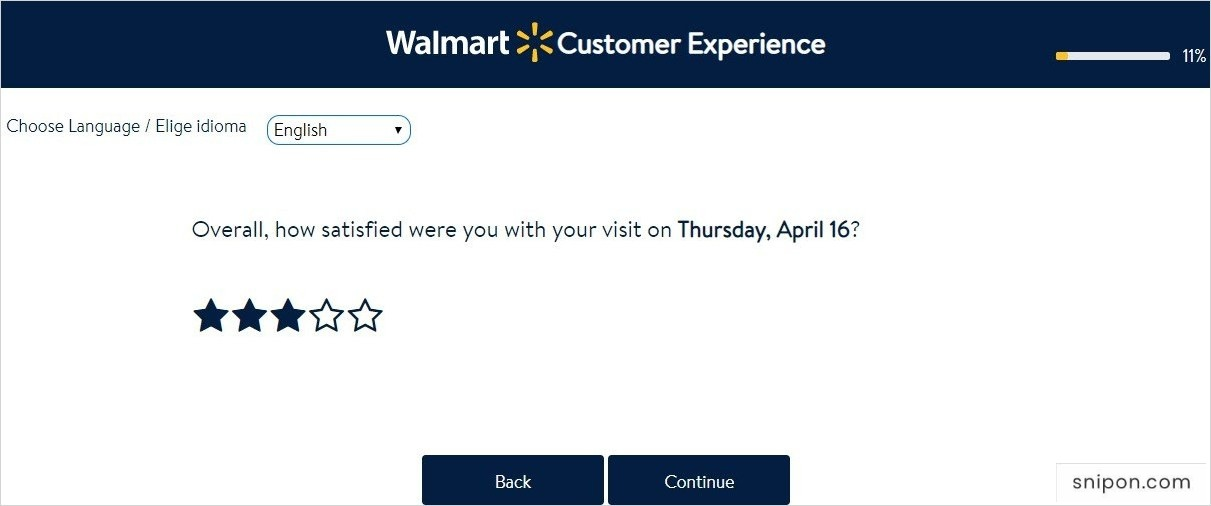 Rate Your Overall Satisfaction - survey.walmart.com