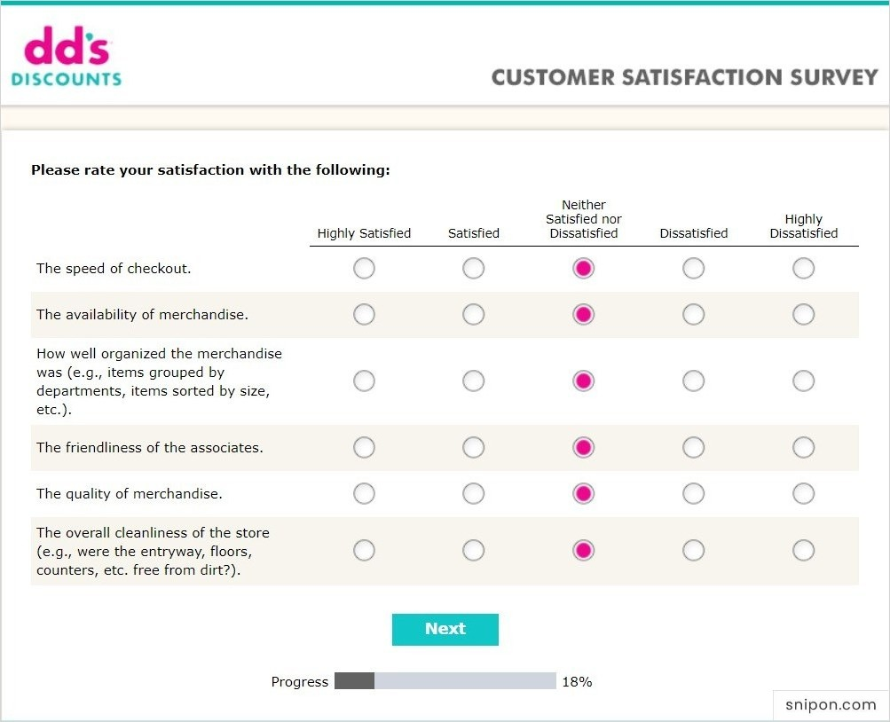 Rate Your Satisfaction With... - DDSListens