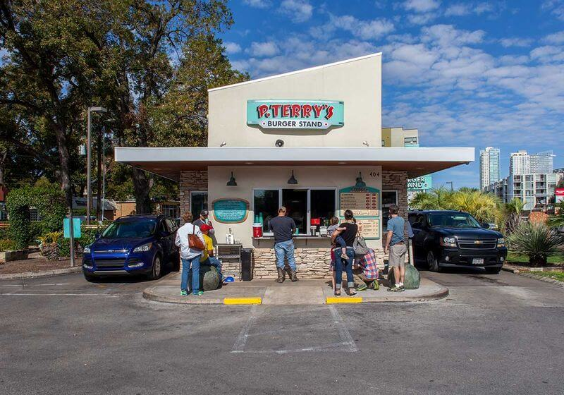 P. Terry's Burger Stand Austin