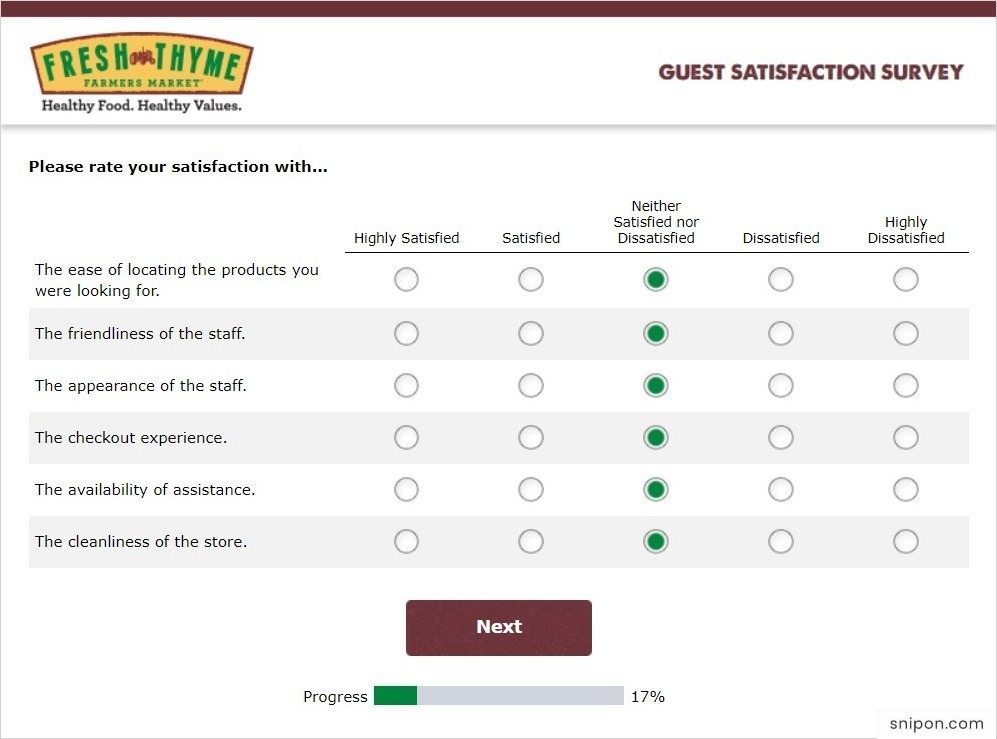 Please Rate Your Satisfaction With... - TellFTFM