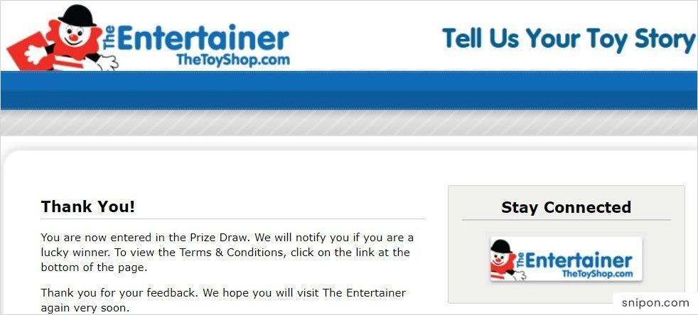Congratulations! www.tellusyourtoystory.com