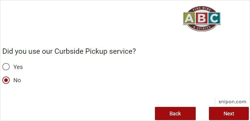 Did You Used Curbside Pickup Service? - ABC Survey