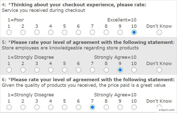 Rate Checkout Experience, Employees & More - Save-On-Foods Survey
