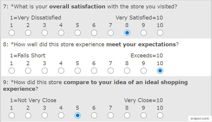 Rate Overall Satisfaction, Expectations & More - Save-On-Foods Survey