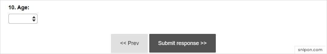 Enter Age & Submit - www.Crocs.com/Feedback