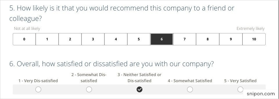 Select Overall Rating & Likelihood Of Recommending EmsarListens