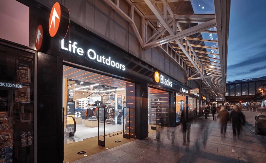 Black Outdoor Retail