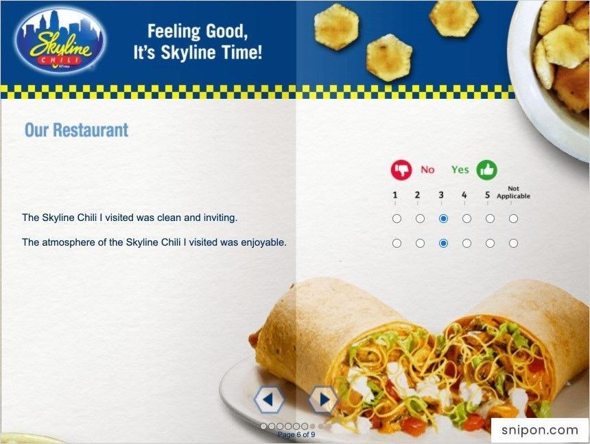 Rate Restaurant - www.SkylineListens.com