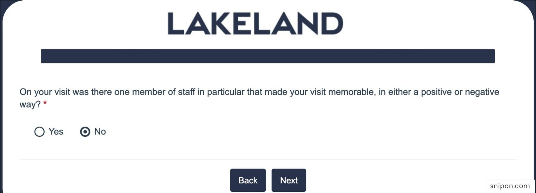 Did Any Member Made Your Visit Memorable?
